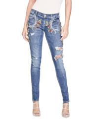 Jeans applicazioni gioiello