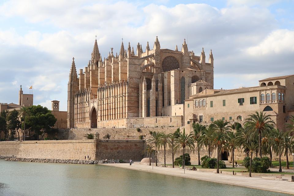 La cattedrale gotica di Palma di Maiorca