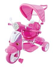 Triciclo Scooter rosa