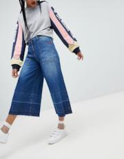 Pantalone palazzo di jeans