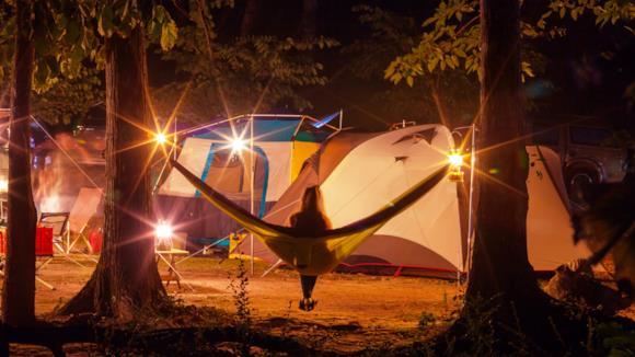 Come scegliere u'amaca da campeggio