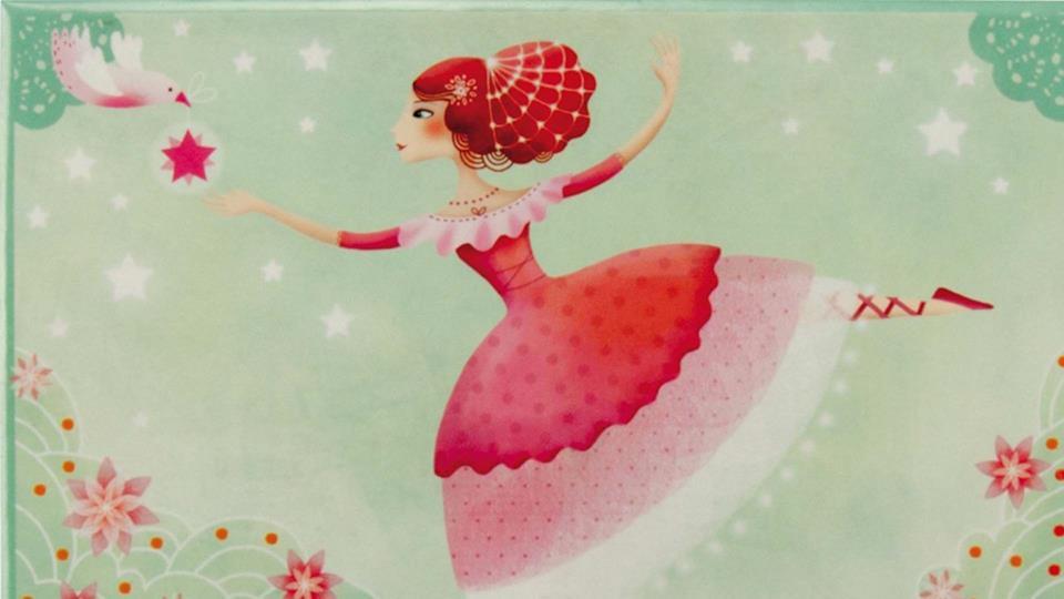 Carillon con ballerina per bambine da regalare per Natale