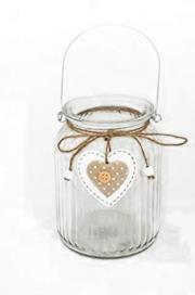 Barattolo di vetro per lanterne