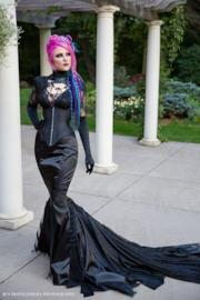 Goth Mermaid Fetish Dress