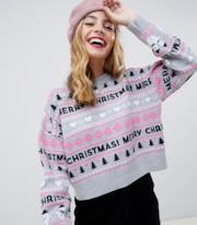 Maglione natalizio Petite
