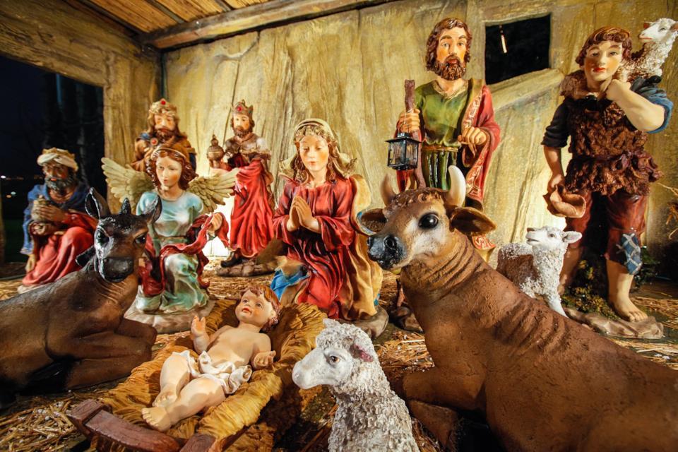 Statuine del presepe di Natale