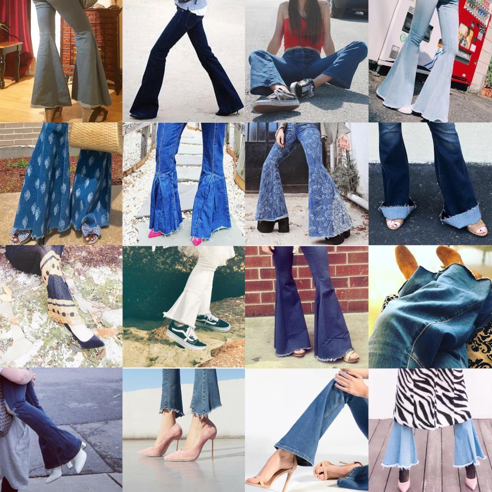 Quali scarpe abbinare ai jeans a zampa
