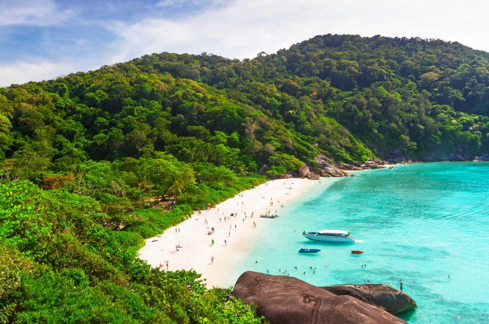 Spiaggia della Thailandia