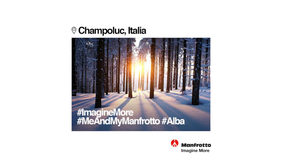 Manfrotto, treppiedi professionali made in italy per la fotografia