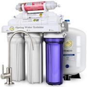 75GPD Sistema Filtrazione Acqua 6 Fasi a Osmosi Inversa Alcalina