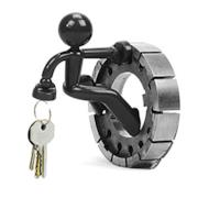 Omino magnetico nero porta chiavi