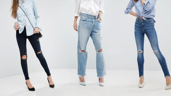 Tutti i migliori jeans strappati da donne dell'estate 2018