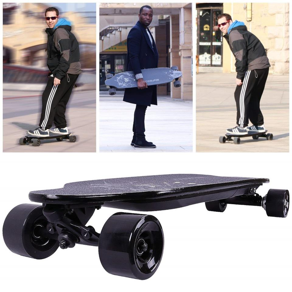 Skateboard elettrico longboard Cool&Fun su Amazon