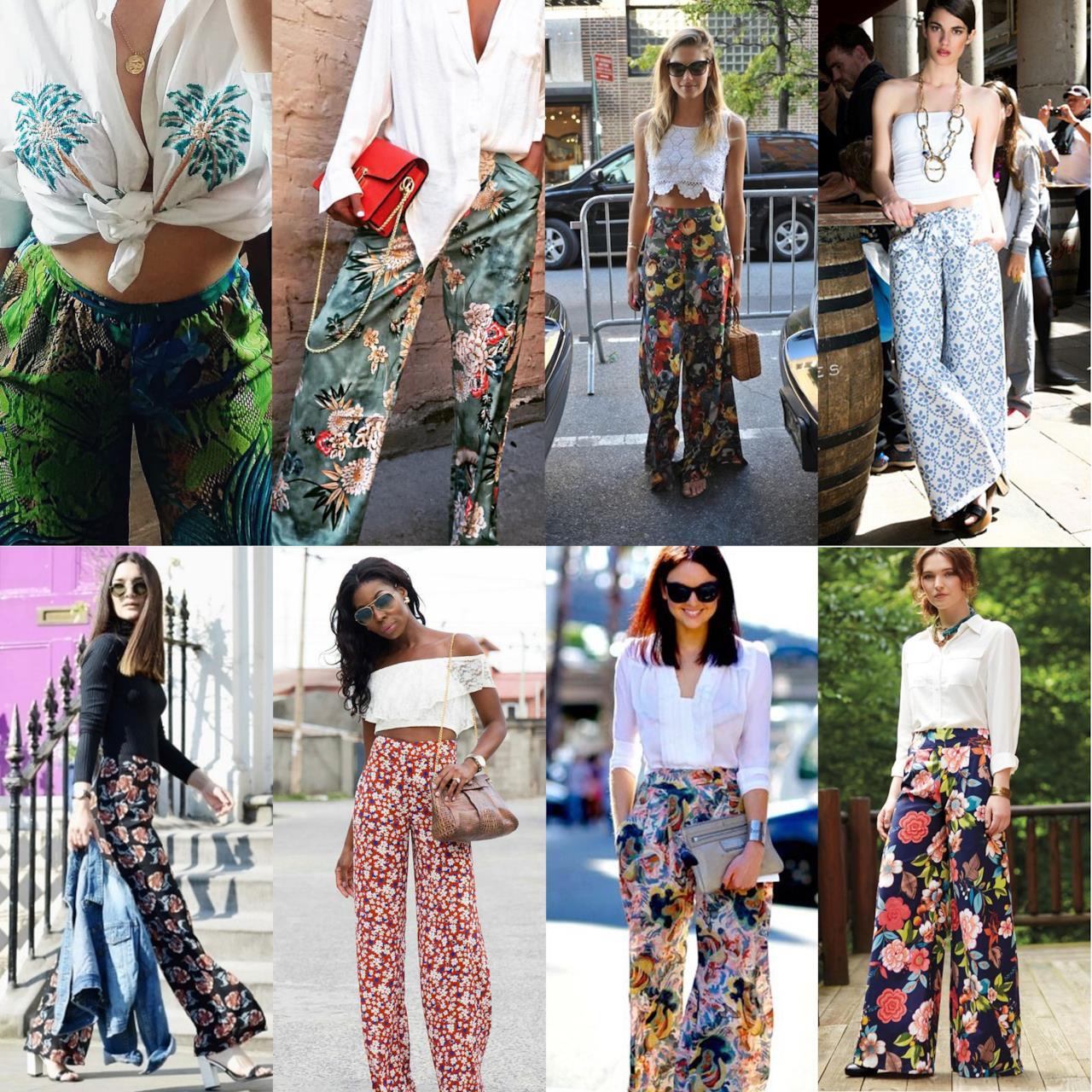 I migliori pantaloni palazzo a fiori da mettere subito in valigia