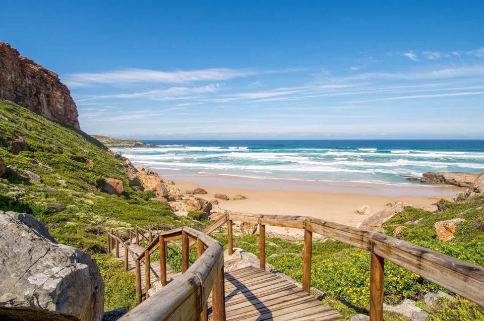 A beach in Garden Route, South Africa