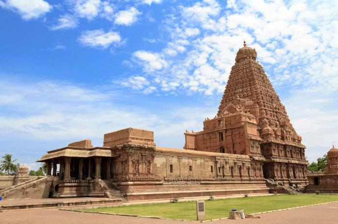 Temple in Tanjore, India