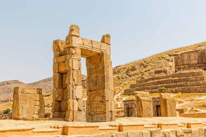 Persepolis ruins in Iran