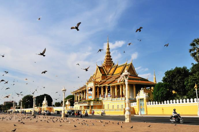 Pavillion of the Royal Palace in Phnom Penh