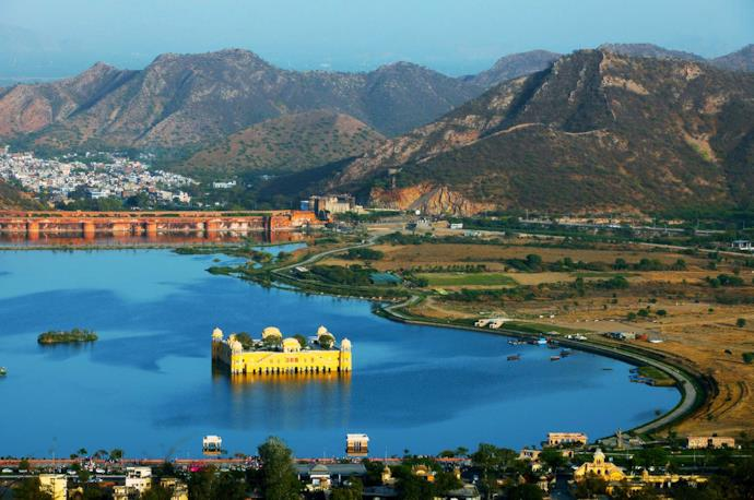 Jaipur seen from above