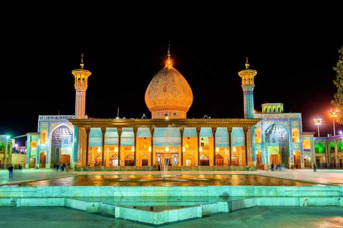Shah Cheragh in Shiraz, Iran