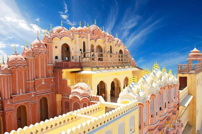 The Palace of winds in Jaipur