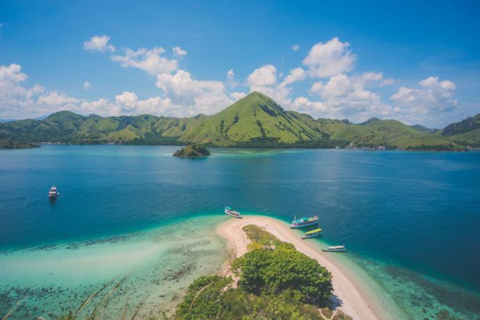Indonesia wild beach