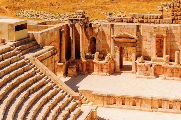 Jerash Roman amphitheater, Jordan