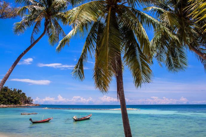 Koh Pha Ngan island, Thailand