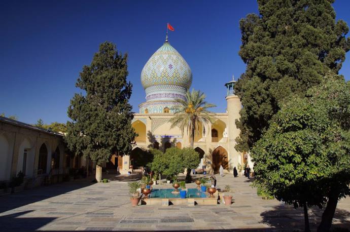 Ali Holy Shrine in Shiraz, Iran