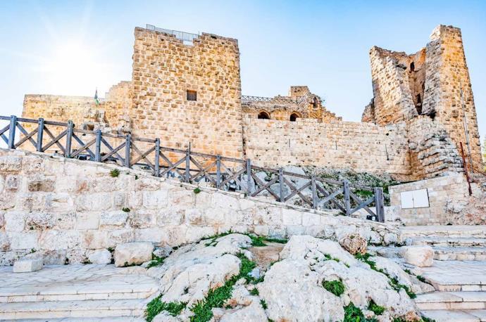 Ajlun castle in Jordan