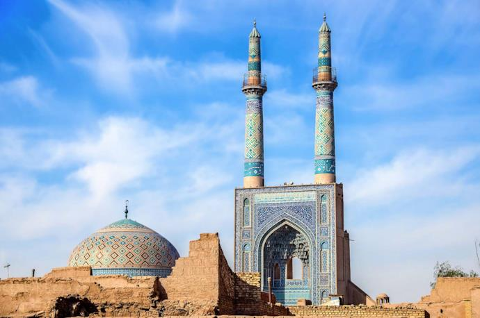 Friday Mosque in Yazd, Iran