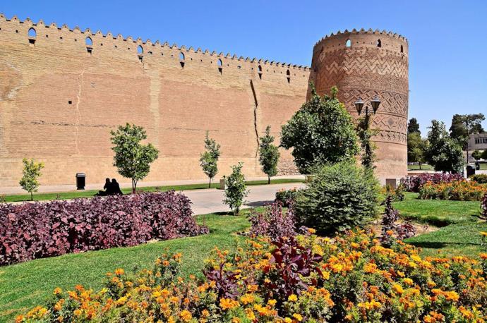 Karim Khan Citadel in Shiraz, Iran