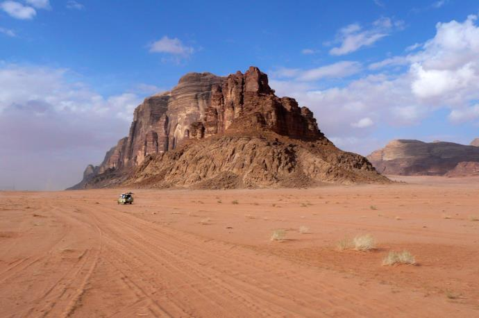 Wadi Rum 4x4 tour in Jordan