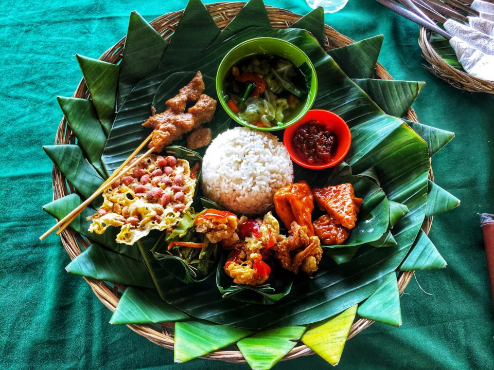 Bali local food in Indonesia