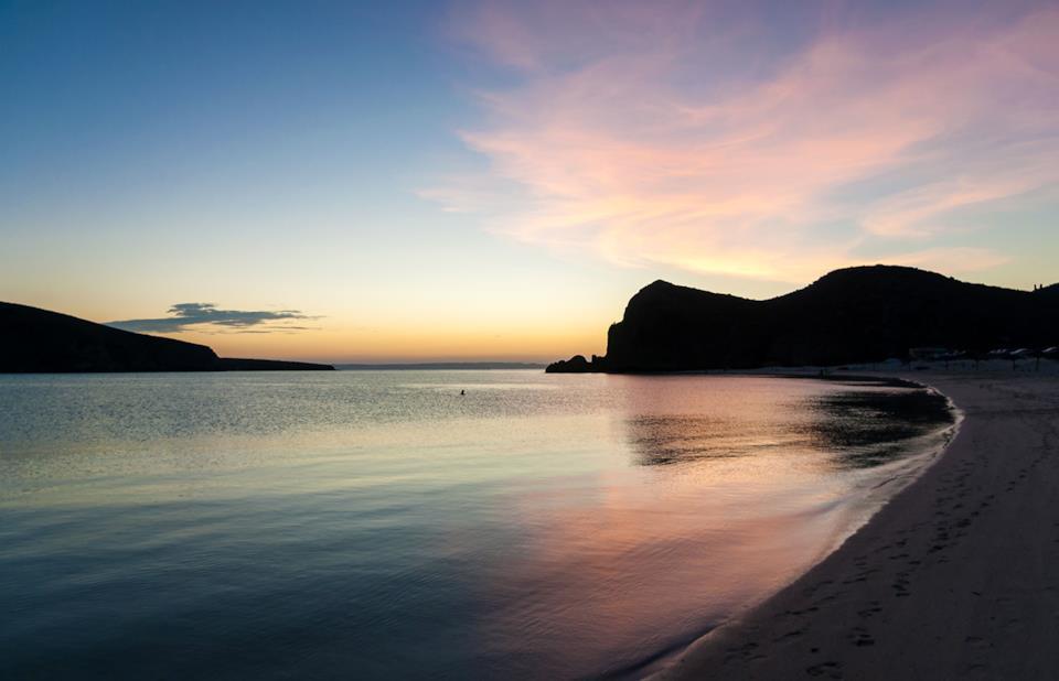 Sunset in Baja California Sur, Mexico