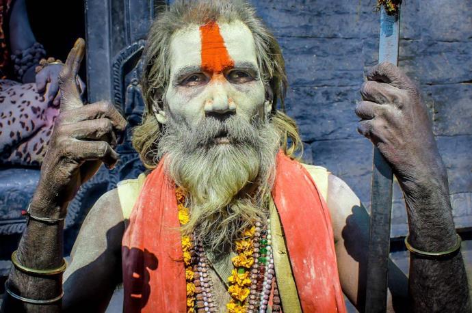 India's holy man
