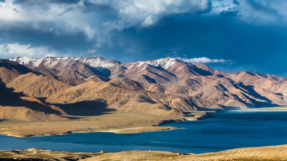 Mountain landscape of Tajikistan