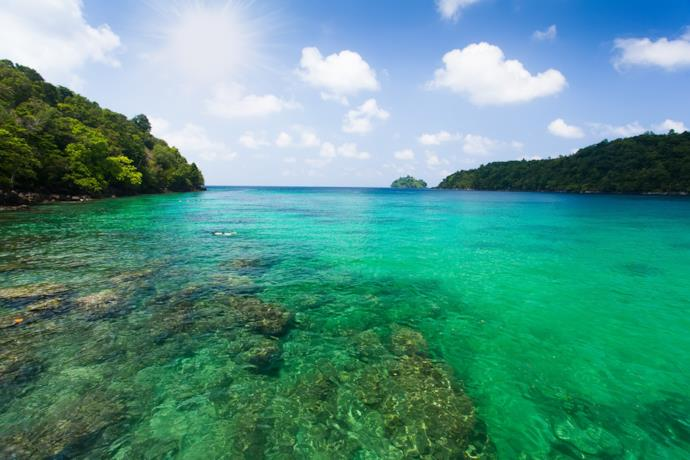 Weh island sea, Indonesia