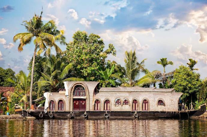 Kerala's houseboats