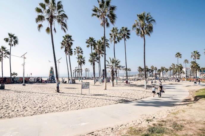 Venice Beach in Los Angeles, Usa