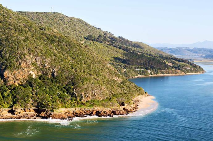Garden Route coast in South Africa