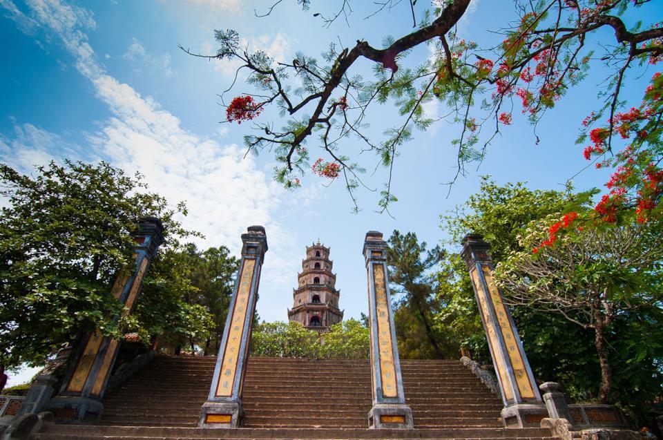 Thien Mu Pagoda in Hue, Vietnam
