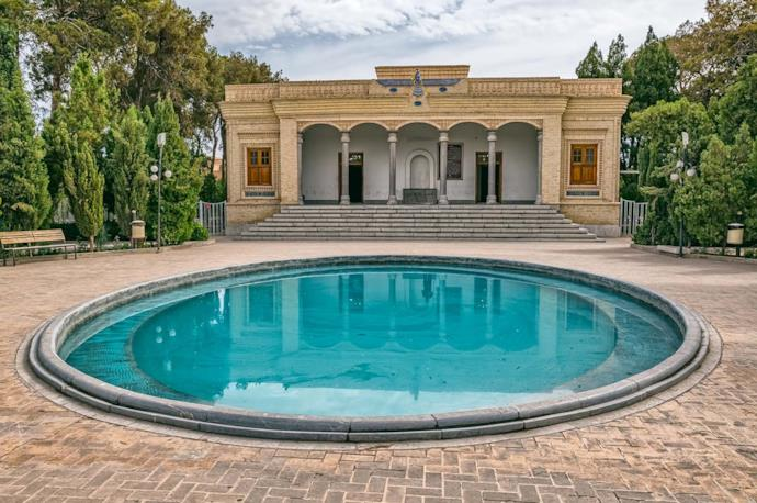 Fire temple in Yazd, Iran