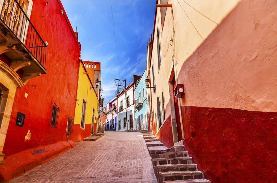 Street in Guanajuato, Mexico