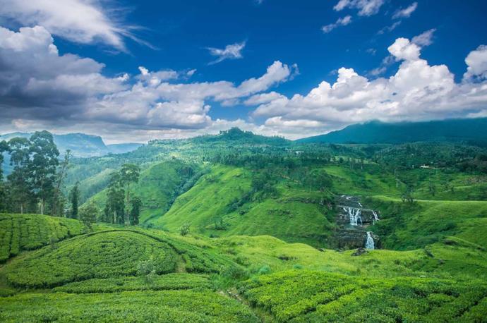 Mountains of Nuwara Eliya, Sri Lanka