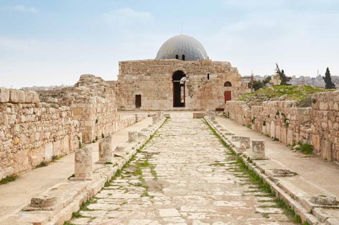 Umayyadi Palace in Amman, Jordan