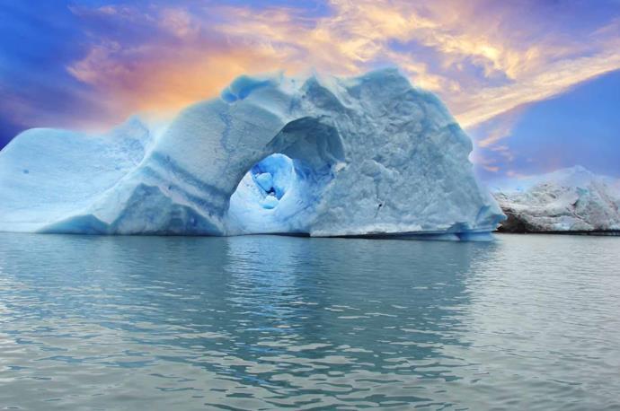Spigazzini Glacier, Los Glaciares National Park, Patagonia, Argentina