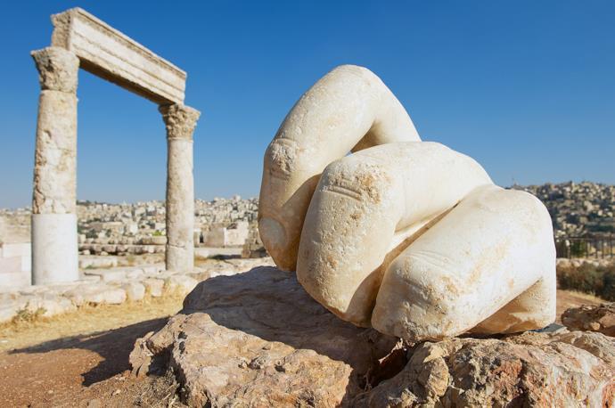 Hercules Temple in Amman, Jordan