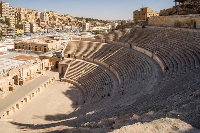Amman Roman Theater in Jordan
