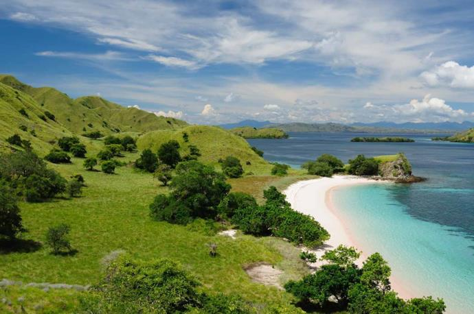 Komodo National Park beach, Indonesia